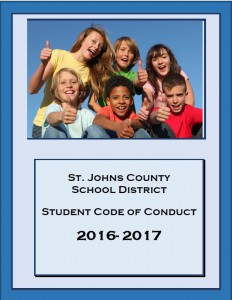 2016-17 SJCSD Student Code of Conduct
