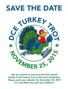 Save the Date DCE Turkey Trot